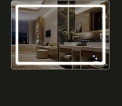 WWLONG LED Espejo Faro l/ámpara de ba/ño l/ámpara de Cristal ba/ño l/ámpara de Pared l/ámpara de Maquillaje Espejo iluminaci/ón Frontal-Warm light-16cm